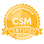 Certified ScrumMaster badge icon